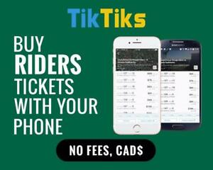 All Riders home games at the tip of your fingers! Get our 5 star app and pay NO FEES, CAD$, Mobile Entry no printing