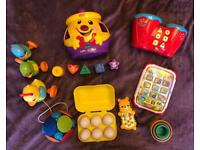 Popular 8 piece toy bundle