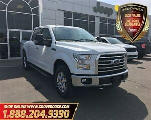 2016 Ford F-150 XLT| Trailer Two Mirrors| Cloth| Navigation| Bac