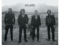 The Killers x2 Standing Tickets for Luxembourg 26.07.2018