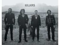 3 Killers Standing Tickets Liverpool November 9th