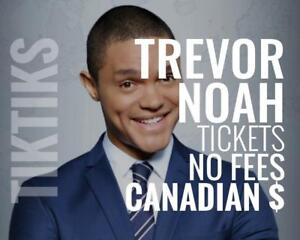 Trevor Noah Tickets July 28 Montreal Canadian $, cheaper, five star CDN company, awesome service!