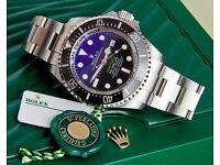 Rolex Deepsea D Blue 116660 DSDB, 2016 unworn. London