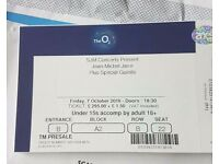 Jean Michel Jarre Zero Gravity VIP ticket 7th October 2016