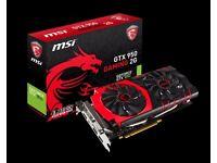 MSI NVIDIA GeForce GTX 950 2GB Graphics Card