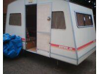 rapido fold up caravan