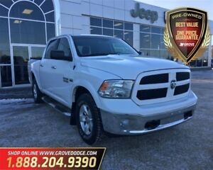 2014 Ram 1500 SLT| Cloth| 4X4| Trailer Brake Controller