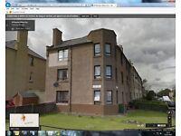 2 double bedroom 2nd floor flat in North Edinburgh for 1 or 2 bedrooom ground floor in/out Edinburgh