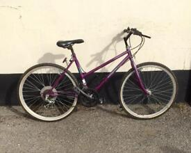 Ladies mountain bike 18'' frame £45