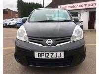 NISSAN NOTE 1.5 dci visia (black) 2012