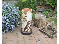 Chimney Pot Reclaimed Garden Decoration or Planter VERY UNUSUAL