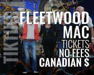 Fleetwood Mac Concert Tickets Toronto Nov 5th We're like StubHub/Vivid but cheaper and Canadian owned. No fees, CA$