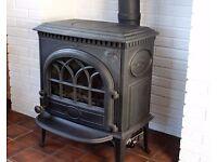 Jotul Gas Wood burner Cast Iron