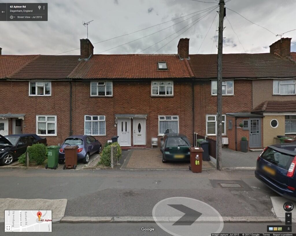 BEAUTIFUL 3 BEDROOM HOUSE READY TO MOVE IN DAGENHAM (RM8)