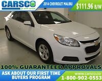 2014 Chevrolet Malibu 1LT, LOCAL, NO ACCIDENTS, BLUE TOOTH
