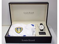 Louis Erard Watch (029/100) Limited Edition Leeds Watch with Shirt signed by Leeds Football Team