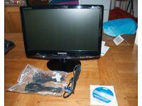 """Samsung computer monitor 18 1/2"""""""