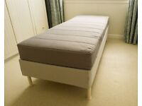 2 Ikea Sultan Single Bed Frames & Mattresses in Immaculate Condition