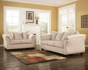 Ashley sofa comes in 7 colors Amazing Deal lowest price in GTA   Reg price $999 now only $499   sofa $499  loveseat $449