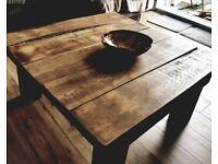 True Rustic oak coffee table