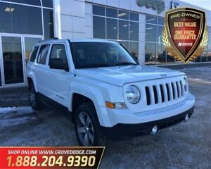2016 Jeep Patriot Sport| Leather| 4X4| Low KM| Sunroof