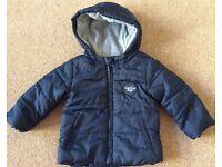 Navy F&F Baby Jacket 6 - 9 Months - £2