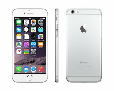 "Apple iPhone 6 16GB GSM""Factory Unlocked""Smartphone SILVER"