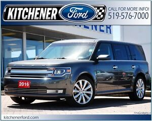 2016 Ford Flex AWD/HEATCOOL LEATHER/NAVI/CAM/ROOF/7 PSSNGR
