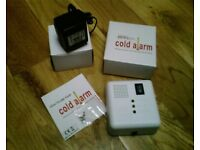 BRAND NEW and Used Cold Alarms (Detects Low Unsafe Temperatures Safety OAP Baby Pets Plants Wine)