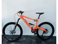 Orange Five 2012 full sus mountain bike (medium) - SWAP