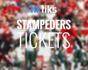 Calgary Stampeders tickets. All home games. Buy CFL Tickets from Canadians in CAD$