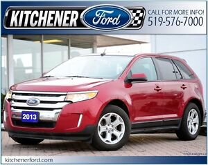 2013 Ford Edge SEL SEL/FWD/LEATHER/PANO ROOF/SIRIUS/HTD SEATS...