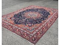 Huge hand woven Persian rug 12ft by 8ft6