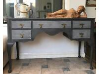 Vintage upcycled sideboard TV unit dressing table