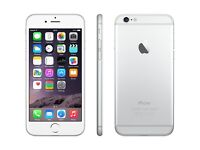 IPhone 6 128gb silver /white boxed all accessories