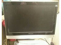 """wharfedale 22"""" TV IDEAL SIZE FOR BEDROOM/KITCHEN HAS HDMI ETC ONLY £49"""