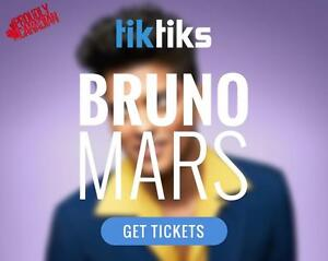 Bruno Mars tickets live at Rogers Arena in Vancouver July 26th & 27th!