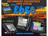 Complete Touchscreen Scanning Cash register Epos System for Retail Store