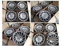 "HT956* NEW 18"" INCH ALLOY WHEELS TURBINE ALLOYS FIT 5X120 VAUXHALL INSIGNIA JAGUAR VIVARO"