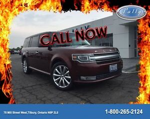 2015 Ford Flex Limited, Executive Demo, Roof, Nav, 13348 km's!