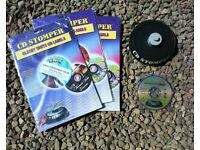 CD Stomper Pro - kit for labelling CDs. Disc, applicator, labels.