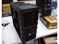 INTEL i7 GAMING PC SIX CORE 16GB RAM SSD 4TB GTX GRAPHICS CARD