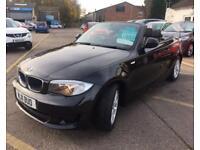 BMW 1 SERIES 2.0 118D ES 2d 141 BHP (black) 2011