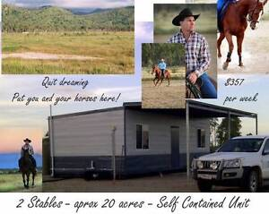 Self-Contained 1 Bedroom with the best views,20 acres& 2 Stables Townsville Surrounds Preview