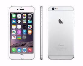 Apple Iphone 6 16GB - Silver- Unlocked (GRADE A)