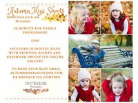 Autumn family mini-shoots