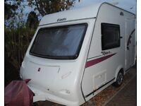 Elddis 302 lightweight caravan