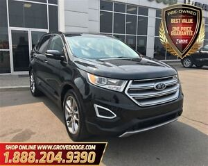 2015 Ford Edge Titanium| AWD| Leather| Low KM| Sunroof| Keyless