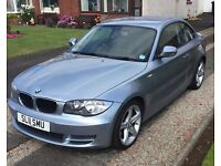 "BMW 1 Series Coupe 2.0 118d Sport Blue 2011 (11) - 18"" Star Alloys, Leather Seats, Air Con"