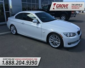 2011 BMW 3 Series 335i Convertible w/ Red Leather, RWD,